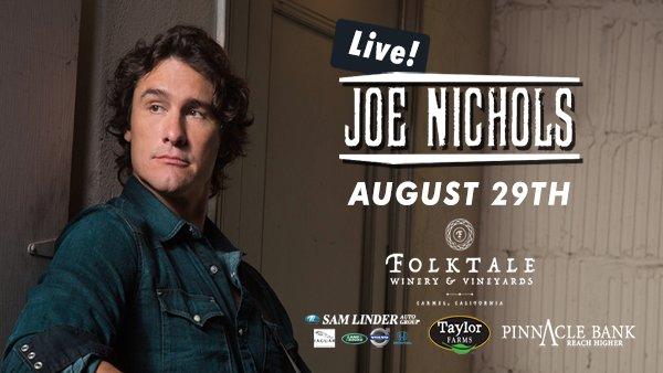 None - Joe Nichols Live at Folktale!