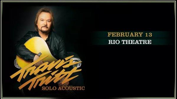 None - Travis Tritt at The Rio Theatre!