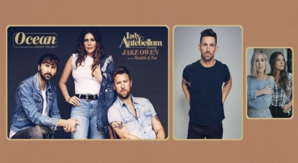 None - Lady Antebellum with Jake Owen and Maddie & Tae!