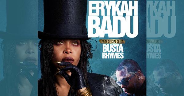 None - Win Tix to see Erykah Badu & Busta Rhymes!