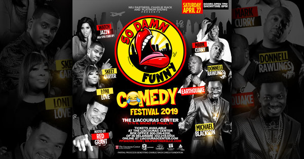 None - Win Tix to the So Damn Funny Comedy Festival!
