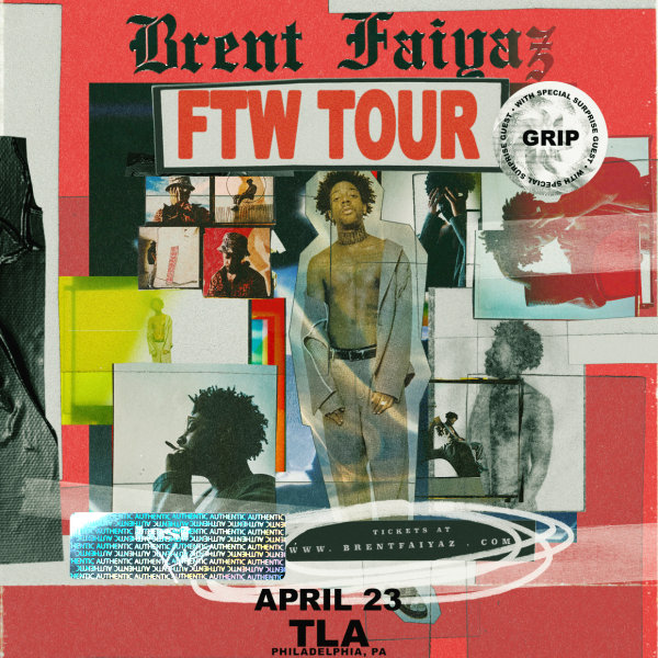 None - Win Brent Faiyaz @ TLA Tickets!
