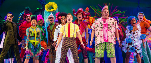 None - Win A Pair of Spongebob The Musical Tickets!