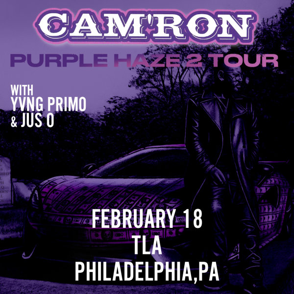 None - Win Tickets To See Cam'ron Live @ TLA!