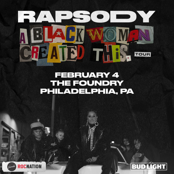 None - Register To Win Tickets To Rapsody @ The Foundry!