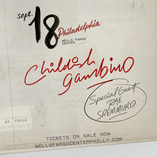 Enter To Win Tickets To See Childish Gambino at Wells Fargo