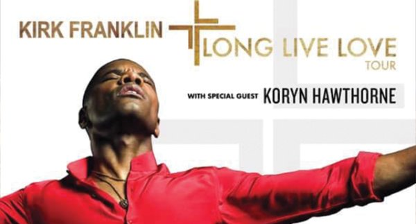 None -  Kirk Franklin's Long Live Love tour July 13th at the Fillmore