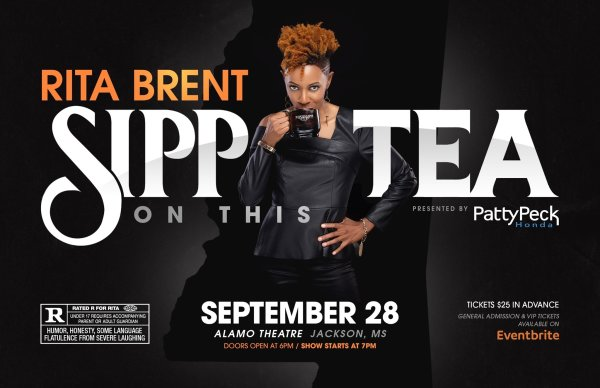 Sipp on this Tea Comedy Show with Rita Brent