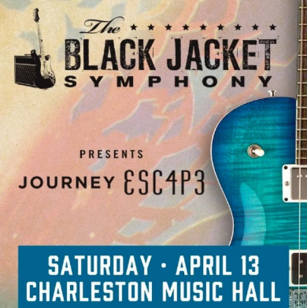 None - Black Jacket Symphony Presents Journey's ESC4P3, Saturday, April 13th at the Charleston Music Hall
