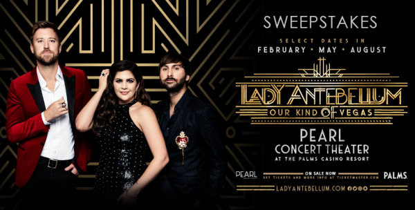 """None - Lady Antebellum """"Our Kind of Vegas"""" Flyaway Sweepstakes"""