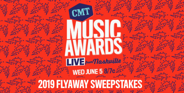 None - CMT Music Awards 2019 Flyaway Sweepstakes