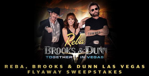 None - Reba, Brooks & Dunn Las Vegas Flyaway Sweepstakes