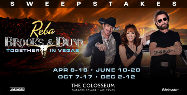 image for Reba, Brooks & Dunn: Together in Vegas Sweepstakes