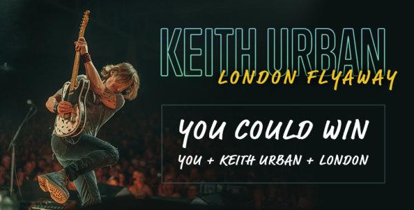 image for Keith Urban London Flyaway