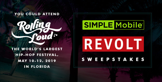 Simple Mobile Revolt Sweepstakes