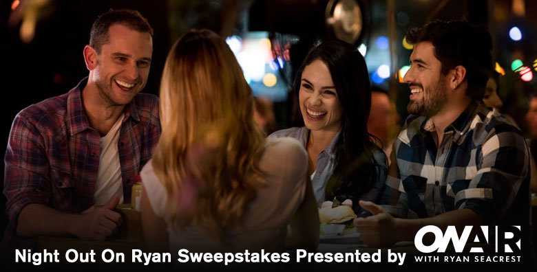 Ryan Seacrest's Night Out On Ryan Sweepstakes 2 | American Top 40