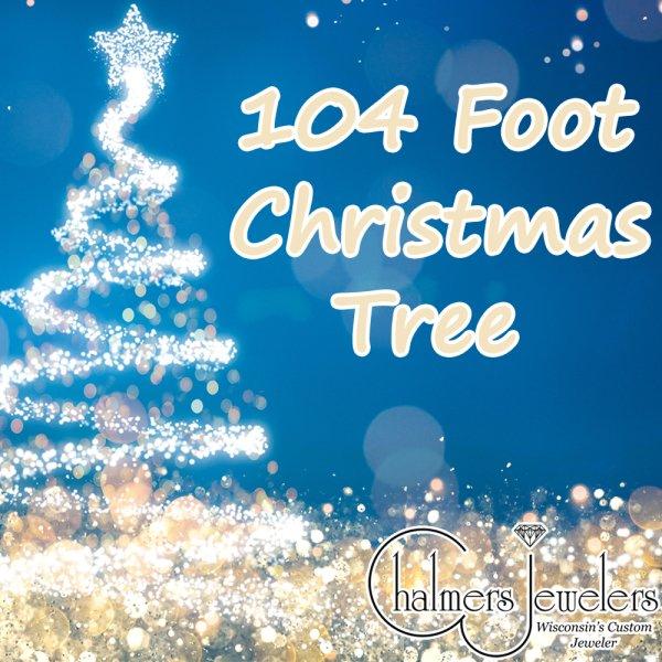 None - 104 Foot Christmas Tree 2018