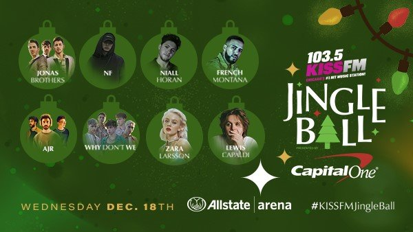 None - Win tickets & your way to Jingle Ball in Chicago