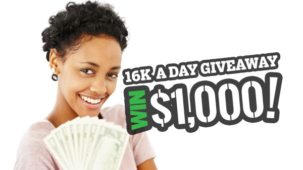 None -    16k A Day Giveaway