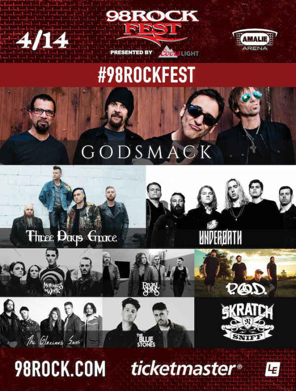 None - 98ROCKFEST Tickets