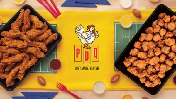 None - Celebrate Football with PDQ!