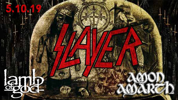 None -  Slayer Farewell Concert Tickets