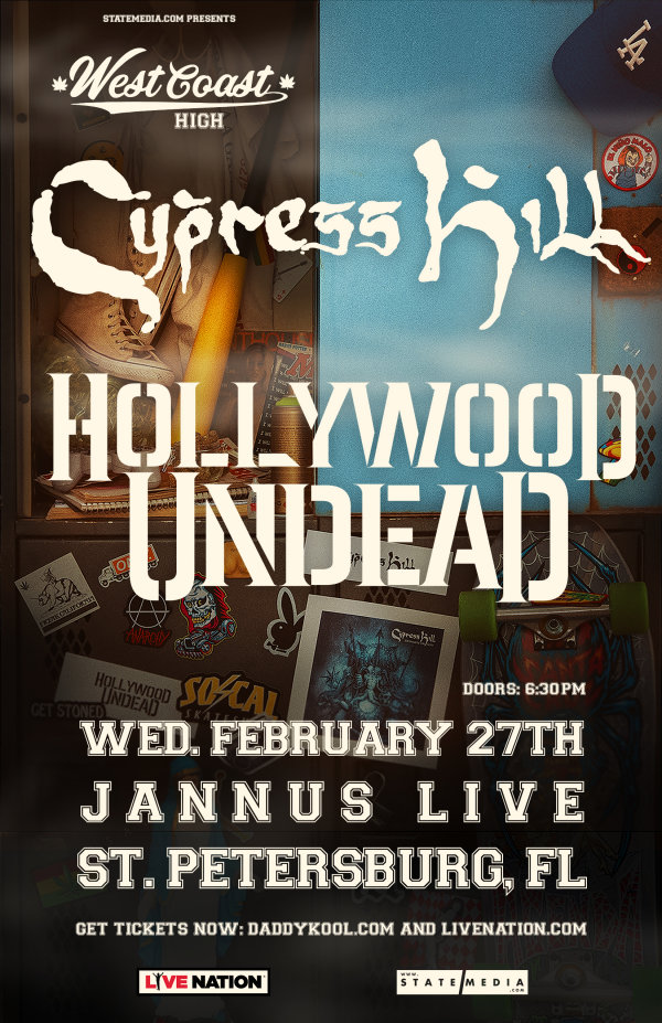 None - Win Cypress Hill & Hollywood Undead Tickets
