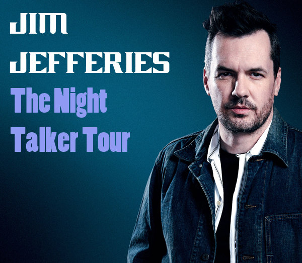 Win Tickets To See Comedian Jim Jefferies