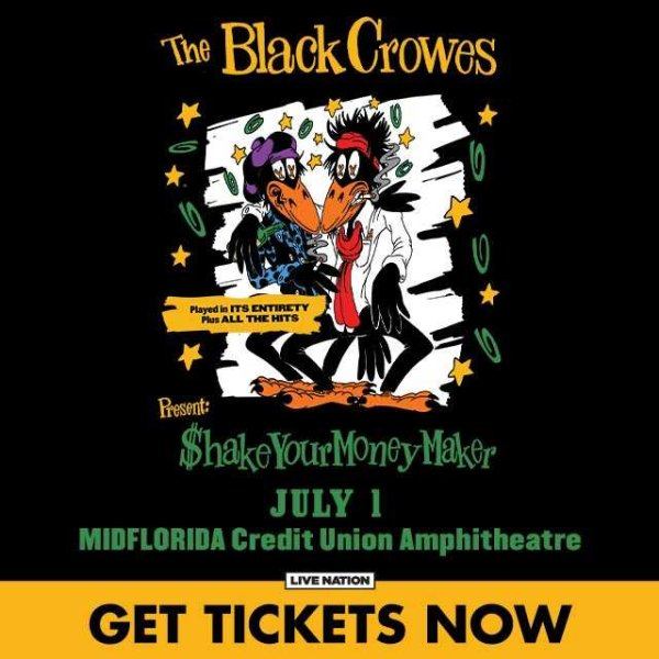 None - Win Black Crowes Tickets