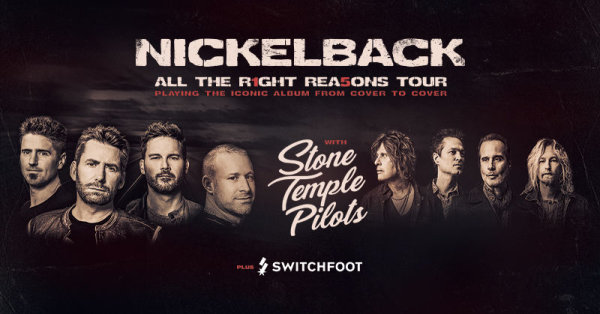image for Nickelback & Stone Temple Pilots
