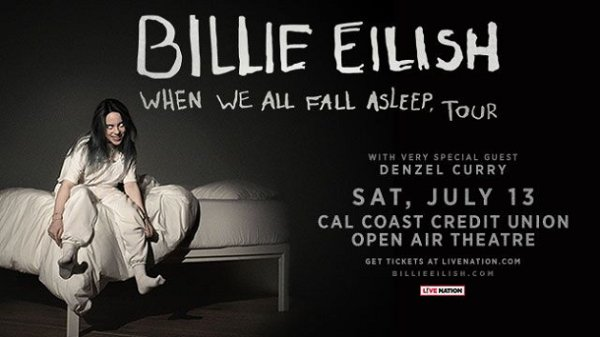 Win Billie Eilish Tickets
