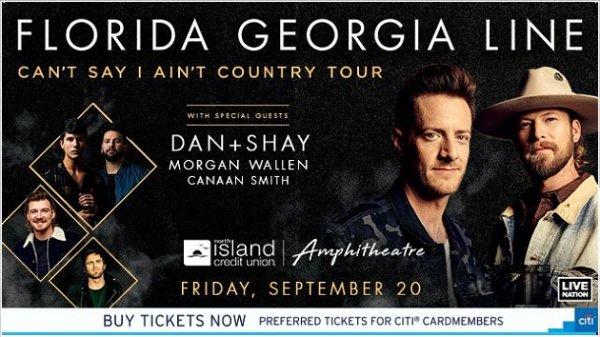 None - Win Florida Georgia Line Tickets
