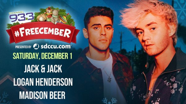 None -   Meet Jack & Jack at Channel 933 FREEcember