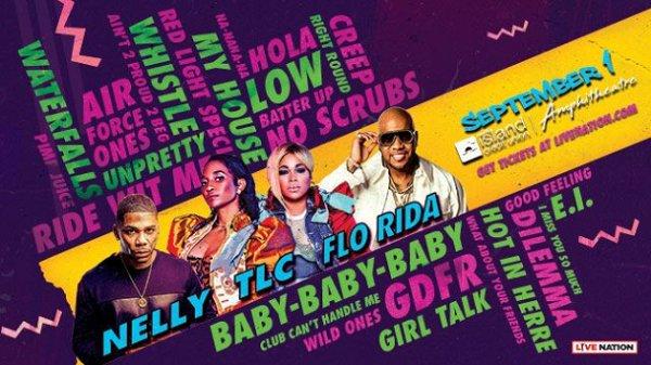 None - Win Nelly, TLC + Flo Rida Tickets