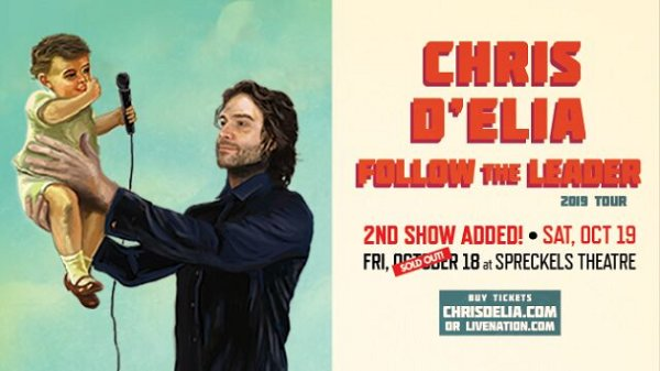 None - Win Chris D'Elia Tickets