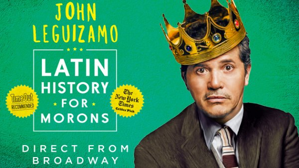 None - Win tickets to LATIN HISTORY FOR MORONS