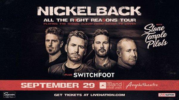 None - Win Nickelback Tickets