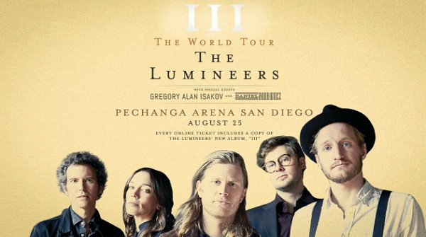 None - Win tickets to The Lumineers