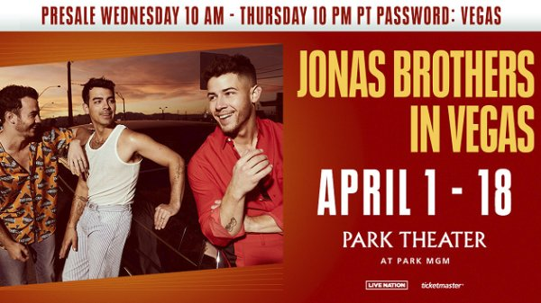 None - Win Your Way to Jonas Brothers: Live in Las Vegas