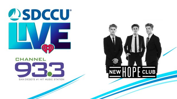 None - Win tickets to New Hope Club at SDCCU® LIVE