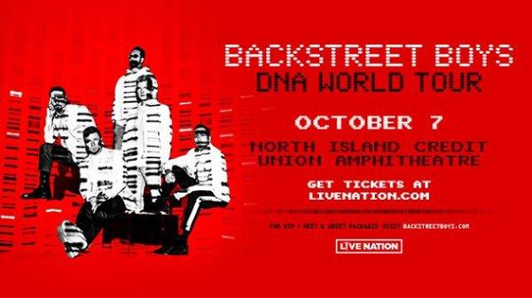 Win Backstreet Boys Tickets