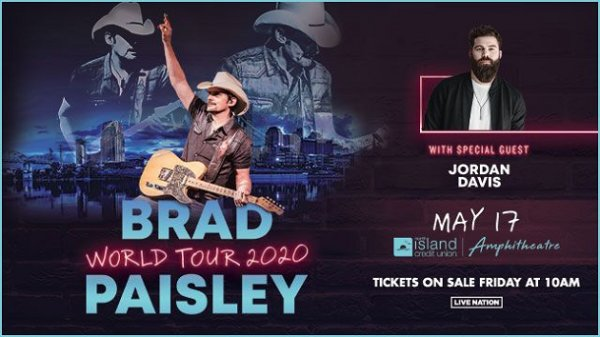 image for Win Brad Paisley Tickets