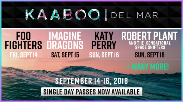Win KAABOO Del Mar Passes