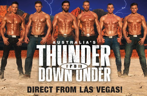 None -  Win tickets to Thunder From Down Under