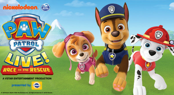 None -  Win tickets to Paw Patrol LIVE: Race to the Rescue