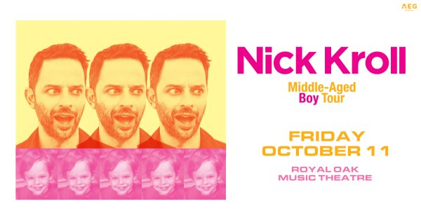 None - Enter for your chance to win a pair of tickets to see Nick Kroll