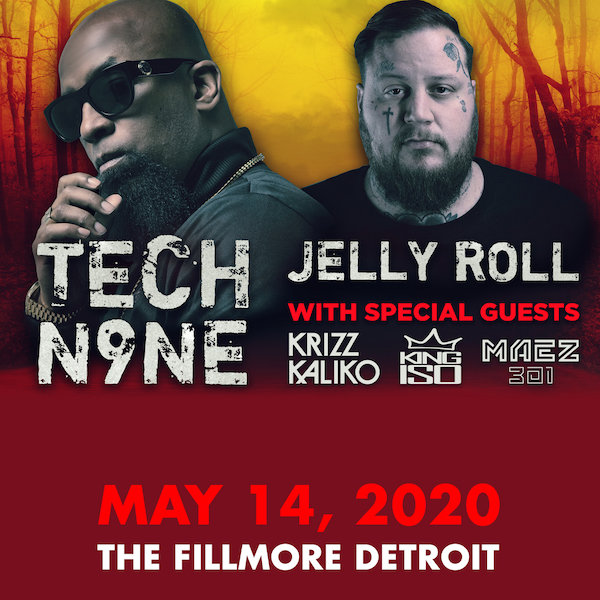 image for Win tickets to see Tech N9ne