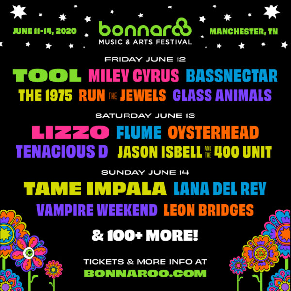 image for Win a pair of tickets and a camping pass to Bonnaroo!