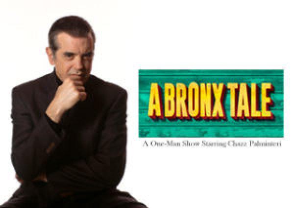 None - A Bronx Tale Starring Chazz Palminteri at Sunrise Theatre!
