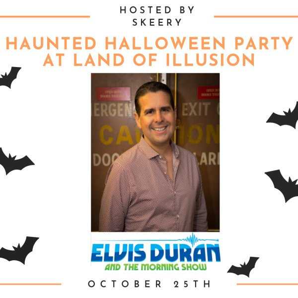 None - Haunted Halloween Party at Land of Illusion hosted by Skerry from Elvis Duran And The Morning Show